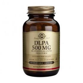 SOLGAR DLPA Dl-Phenylalanine 500mg 50 δισκία
