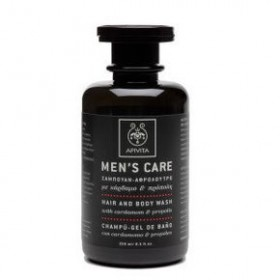 APIVITA Men's Care Shampoo Αφρόλουτρο με κάρδαμο & πρόπολη 250ml