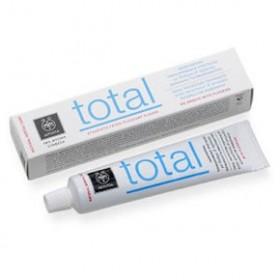 APIVITA TOTAL Οδοντόκρεμα ολοκληρωμένης προστασίας με δυόσμο & πρόπολη 75ml