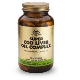 SOLGAR Super Cod Liver Oil Complex 60 δισκία