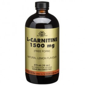 SOLGAR L-Carnitine 1500mg σε Υγρή Μορφή με Γεύση Λεμόνι 473ml