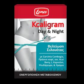 LANES Kcaligram Day & Night 30 Πράσινα & 30 Πορτοκαλί δισκία
