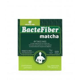 HOLISTIC MED BacteFiber Matcha Συμπλήρωμα Διατροφής για τη Διατήρηση και την Επίτευξη του Φυσιολογικού Σωματικού Βάρους 14 Φακελίσκοι