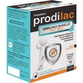 FREZYDERM Prodilac Immuno Shield Fast Melt Προβιοτικά για Παιδιά & Ενήλικες 10 Φακελάκια
