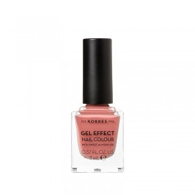 KORRES Gel Effect Nail Colour Ημιμόνιμο Βερνίκι Νυχιών Απόχρωση No36 Misty Rose 11ml