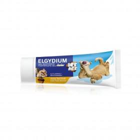 ELGYDIUM Junior Ice Age Παιδική Οδοντόκρεμα με γεύση Tutti Frutti 7-12 Ετών 1000ppm 50ml