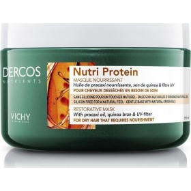 VICHY Dercos Nutrients Nutri Protein Restorative Mask Μάσκα Αναδόμησης για Ξηρά Μαλλιά 250ml