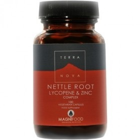 TERRANOVA Nettle Root , Lycopene & Zinc Complex 100 φυτικές κάψουλες