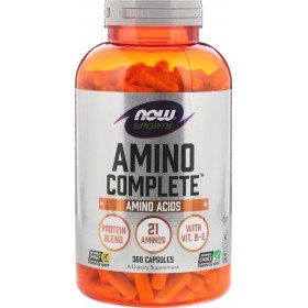 NOW FOODS Sports Amino Complete TM 750mg 360 Caps