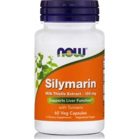 NOW FOODS Milk Thistle/Silymarin 150mg 60 Φυτικές Κάψουλες