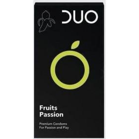 DUO Fruits Passion Προφυλακτικά με Γεύσεις 6τμχ