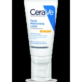 CERAVE Facial Moisturising Lotion AM Ενυδατική Κρέμα Προσώπου για Κανονικό έως Ξηρό Δέρμα SPF25 52ml