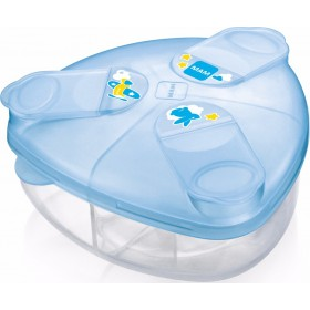 MAM Milk Powder Box Δοχείο για Σκόνη Γάλακτος Χρώμα Γαλάζιο