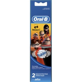 ORAL-B Stages Power Incredibles Ανταλλακτικά Βουρτσάκια για Παιδικές Ηλεκτρικές Οδοντόβουρτσες 2τμχ