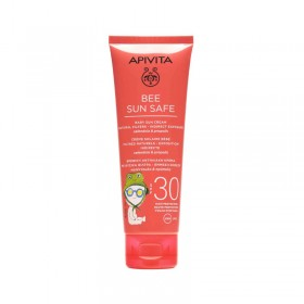 APIVITA Bee Sun Safe Baby Sun Cream Natural Filters-Indirect Exposure Βρεφική Αντηλιακή Κρέμα με Φυσικά Φίλτρα-Έμμεση Έκθεση SPF30 100ml