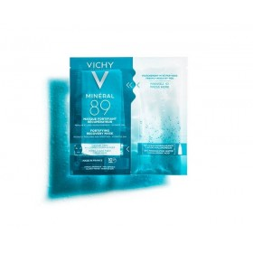 VICHY MIneral 89 Fortifying Instant Recovery Mask Ενυδατική Μάσκα Προσώπου 29g