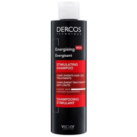 VICHY Dercos Energising Men Δυναμωτικό Σαμπουάν για τα Αδυναμά Μαλλιά που Συμπληρώνει Ιδανικά το Πρόγραμμα Κατά της Τριχόπτωσης 200ml