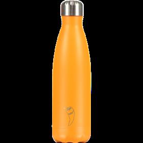 CHILLY'S Neon Edition Ανοξείδωτο Θερμός Χρώμα Πορτοκαλί 500ml
