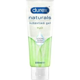 DUREX Naturals H2O Ενυδατικό Λιπαντικό Gel 100ml