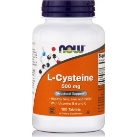NOW FOODS L-Cysteine 500mg 100 Tablets