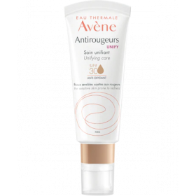 AVENE Antirougeurs Unify Soin Unifiant Κρέμα Προσώπου με Χρώμα για Ευαίσθητο Δέρμα με Τάση για Κοκκινίλες SPF30 40ml
