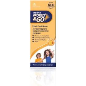 HEDRIN Protect & Go Προληπτικό Σπρέι Conditioner Κατά των Ψειρών 200ml