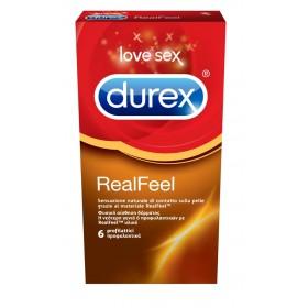DUREX RealFeel Προφυλακτικά 6τμχ