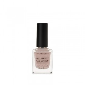 KORRES Gel Effect Nail Colour Ημιμόνιμο Βερνίκι Νυχιών Απόχρωση Νο31 Sandy Nude 11ml