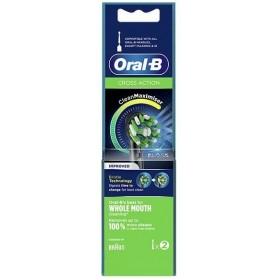 ORAL-B Cross Action Clean Maximiser Ανταλλακτικά Βουρτσάκια 2τμχ
