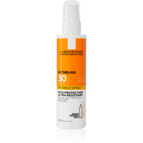 LA ROCHE POSAY Anthelios Invisible High Protection & Ultra Resistant Spray Αντηλιακό Σπρέι Σώματος Υψηλής Προστασίας SPF30 200ml