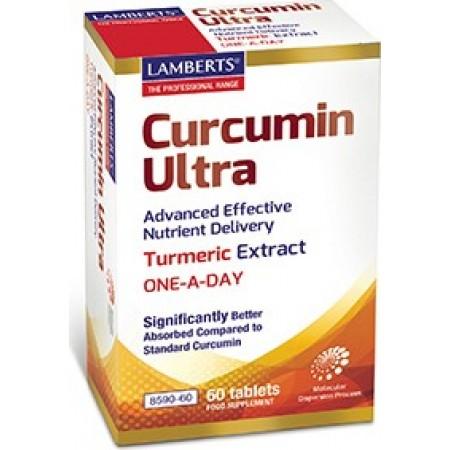 LAMBERTS Curcumin Ultra 60 ταμπλέτες