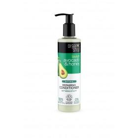 ORGANIC SHOP Avocado & Honey Οργανικό Αβοκάντο & Μέλι Conditioner Επανόρθωσης , Απαλότητας & Ζωντάνιας 280ml