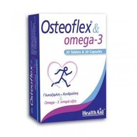 HEALTH AID Osteoflex & Omega 3 750mg Duo 60 caps