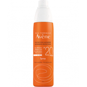 AVENE Sun Spray Αντηλιακό Σπρέι με Ελαφιά μη Λιπαρή Υφή SPF20 200ml