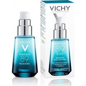 VICHY Mineral 89 Eyes Ενυδατική Κρέμα Ματιών για Λαμπερό Βλέμμα 15ml