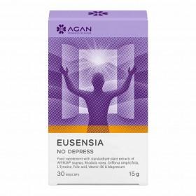 AGAN Eusensia No Depress Συμπλήρωμα Διατροφής για την Ενίσχυση της Διάθεσης και της Συναισθηματικής Ισορροπίας 30 Veg Caps