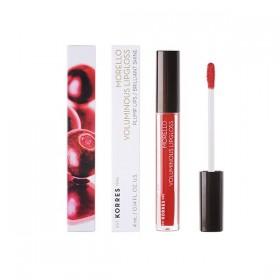 KORRES Morello Voluminous Lipgloss για Γεμάτα Χείλη & Λαμπερό Αποτέλεσμα Απόχρωση 54 Real Red 4ml