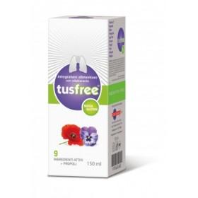 BIONAT Tusfree Φυτικό Σιρόπι για την Αντιμετώπιση του Ξηρού & Παραγωγικού Βήχα & την Ενίσχυση του Ανοσοποιητικού 150ml