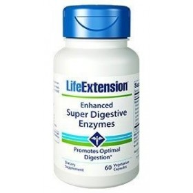 LIFE EXTENSION Enchanced Super Digestive Enzymes (Πεπτικά Ένζυμα) 60 veg tabs