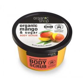 ORGANIC SHOP Body Scrub Kenyan Mango Scrub Σώματος Μανγκο Κένυας 250ml