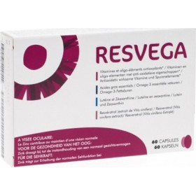 THEA PHARMA Resvega Συμπλήρωμα Διατροφής για τη Διατήρηση της Φυσιολογικής Όρασης 60 Καψάκια