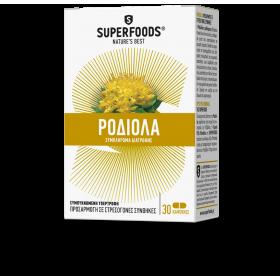 SUPERFOODS Χρυσή Ρίζα Rhodiola 30 caps