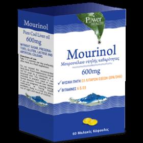 POWER HEALTH Murinol Μουρουνέλαιο Υψηλής Καθαρότητας 600mg 60 Μαλακές Κάψουλες
