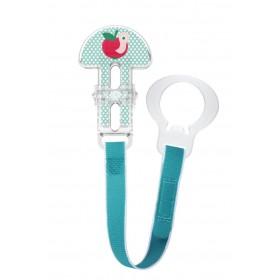 MAM Clip Κορδέλα Στήριξης Πιπίλας Γαλάζιο 0m+