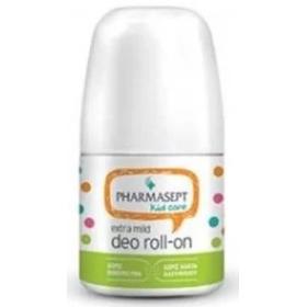 PHARMASEPT Kid Care Extra Mild Deo Roll-On Εξαιρετικά Απαλό Αποσμητικό για Παιδιά & Εφήβους 50ml