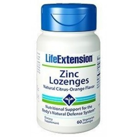 LIFE EXTENSION Zinc Lozenges 60 παστιλιες