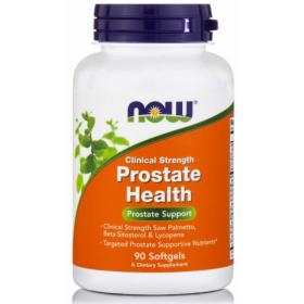 NOW FOODS Clinical Strength Prostate Health Συμπλήρωμα Διατροφής για τον Προστάτη 90 Softgels