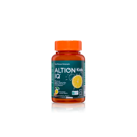 ALTION Kids IQ Συμπλήρωμα Διατροφής για την Καλή Μνήμη των Παιδιών με Γεύση Λεμόνι 60 Μασώμενα Ζελεδάκια