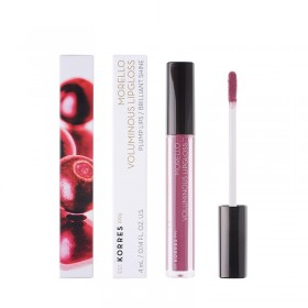 KORRES Morello Voluminous Lipgloss για Γεμάτα Χείλη & Λαμπερό Αποτέλεσμα Απόχρωση 27 Berry Purple 4ml