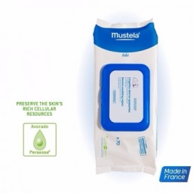 MUSTELA Dermo-Soothing Wipes Delicately Fragnanced 70τμχ